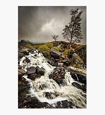Rhaeadr Idwal Waterfall Photographic Print