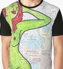 Charted With Un Charted  Graphic T-Shirt