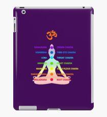 Yoga Chakras - Meditation OM - Spirituality  iPad Case/Skin