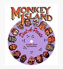 THE SECRET OF MONKEY ISLAND - DISC PASSWORD Photographic Print