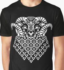 Mono Shetland Sheep Graphic T-Shirt
