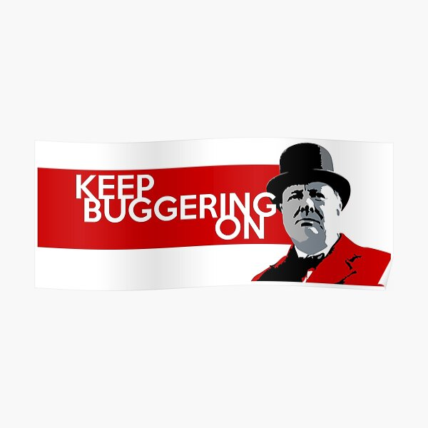 Keep Buggering On II Poster