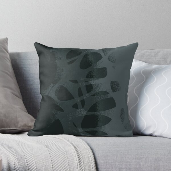 GreyScale Throw Pillow