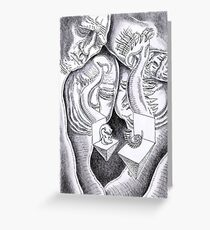 Abstract Mysticism  Greeting Card