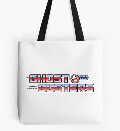 TF Ghostbusters (Ready 2 Believe) Wht Ver.3 Tote Bag