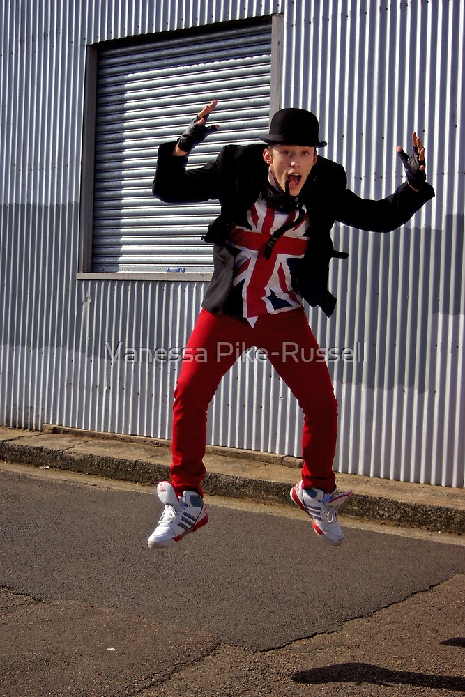 Dion the mod dancer by Vanessa Pike-Russell