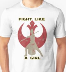 Fight like a girl - Rey T-Shirt