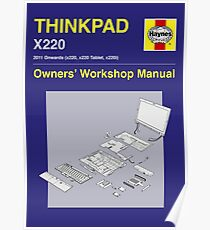 Thinkpad x220 - Owners' Manual Poster