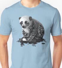WANT TO BE A PANDA - cute animal artwork Unisex T-Shirt