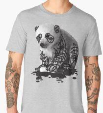 WANT TO BE A PANDA - cute animal artwork Men's Premium T-Shirt