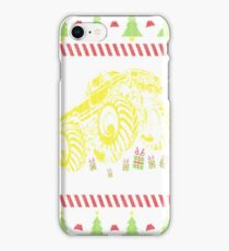 Monster Truck Ugly Christmas iPhone Case/Skin