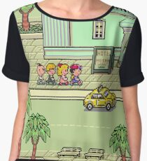 Mother 2: Summers Women's Chiffon Top