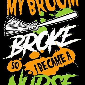MY BROOM BROKE SO I BECOME A NURSE by antipatic