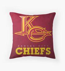 Kansas City Chiefs Print Throw Pillow