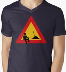 Day Off Men's V-Neck T-Shirt