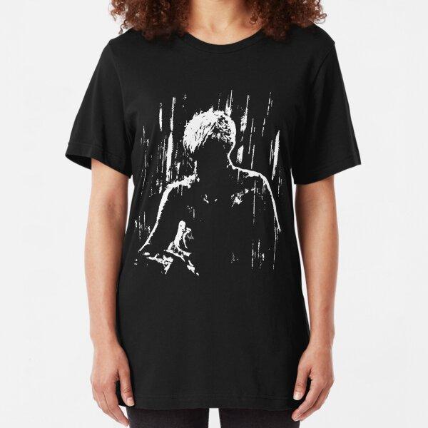 Blade Runner - Like Tears in Rain (No Text Version) Slim Fit T-Shirt