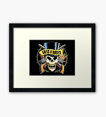 Guns & Roses CUSTOM Print Framed Print