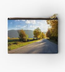 road going to mountains Studio Pouch