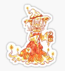 Candle Witch Sticker