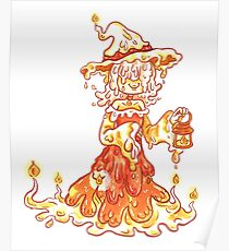 Candle Witch Poster
