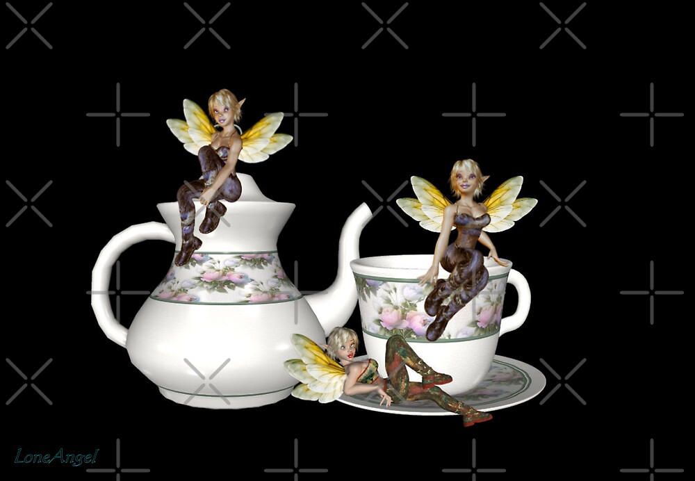 Tea Party by LoneAngel