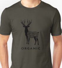 Hunting Deer is Organic Cuts of Meat for Hunters Unisex T-Shirt