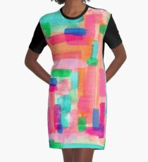 WELCOME TO MY FANTASY Graphic T-Shirt Dress