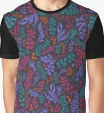 Cut Flowers Pattern Graphic T-Shirt