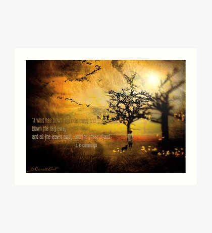 The Trees Stand... Art Print