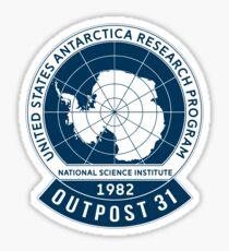 Outpost 31  Sticker