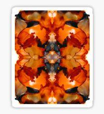 Halloween Kaleidoscope Sticker