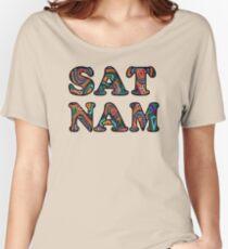 Kundalini Yoga Shirt - Sat Nam T Shirt Women's Relaxed Fit T-Shirt