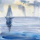 Boat  by Irina Reznikova