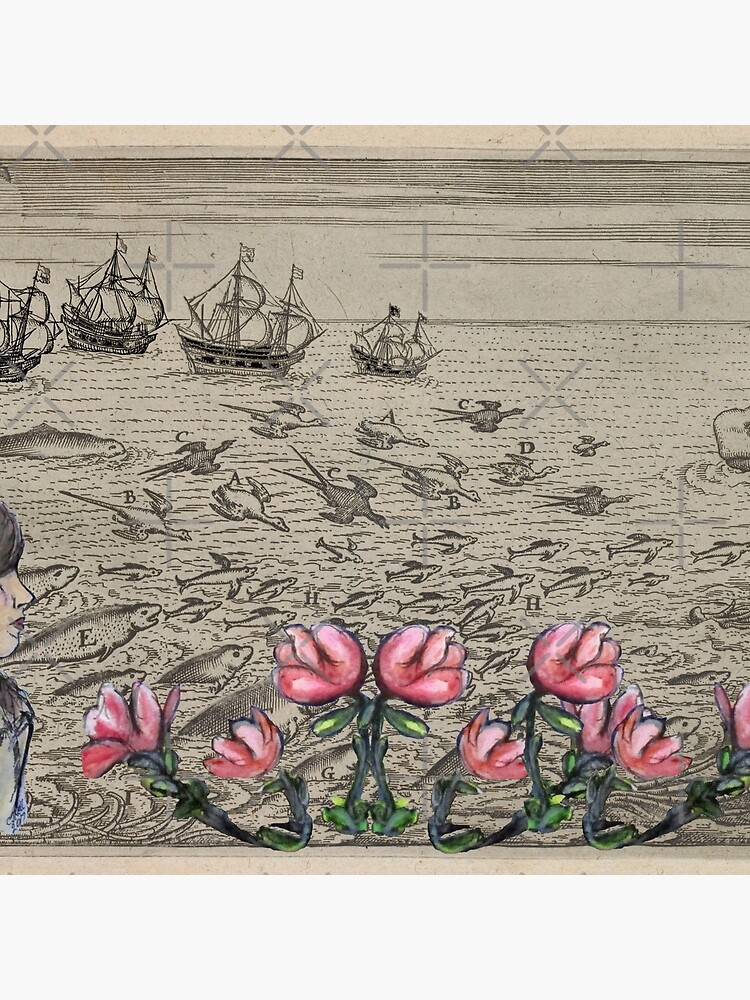 Woman Watching Sea Creatures by cjkell