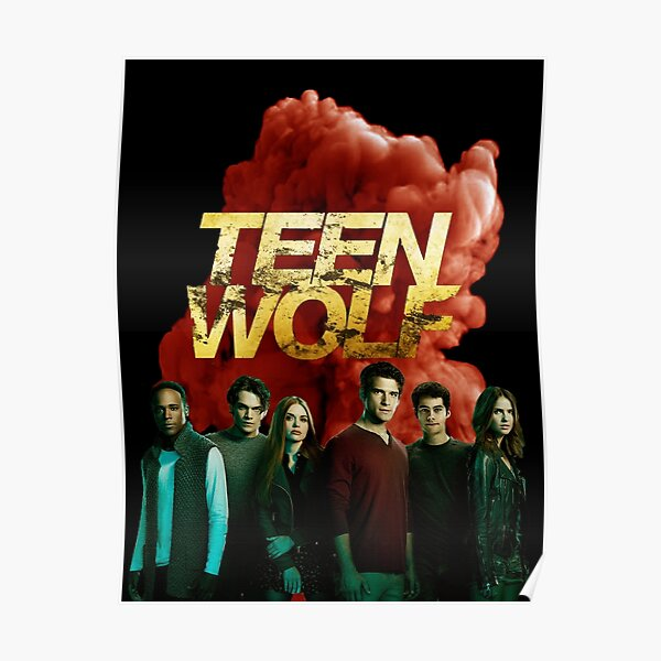 Teen Wolf Fan Art Póster