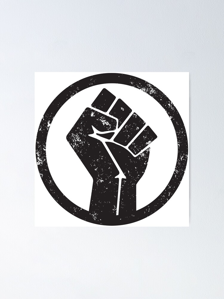 Alternate view of BLACK POWER RAISED FIST Poster