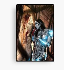 CyberHorror Painting 004 Canvas Print