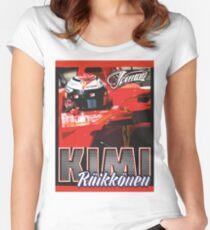 Kimi Raikkonen 2017 Women's Fitted Scoop T-Shirt