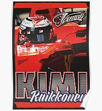 Póster Kimi Raikkonen | F1