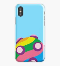 Colorful sticky rolling ball iPhone Case