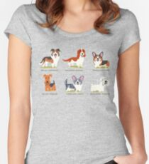 puppys  Women's Fitted Scoop T-Shirt
