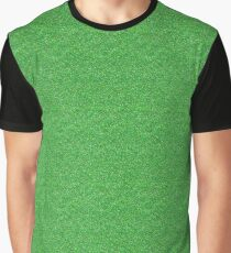 eb79d5203c35c Green Sparkle Glitter Graphic T-Shirt
