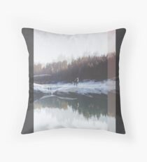 DAY 10 // 101817 (arms too short) Throw Pillow