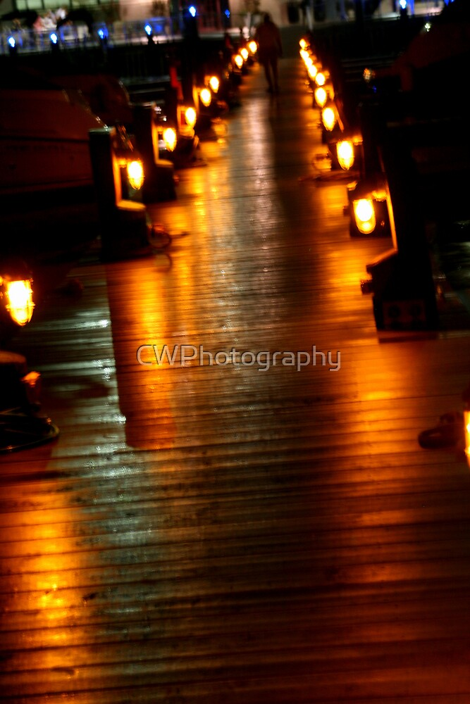 Pier Lights by CWPhotography