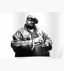 BIGGIE - D90 Rap Collection. Poster