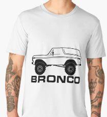 1978-1979 Ford Bronco Side, Black Print Men's Premium T-Shirt