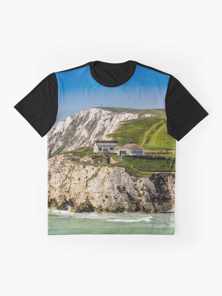 Alternate view of Fort Redoubt Freshwater Bay Isle Of Wight Graphic T-Shirt