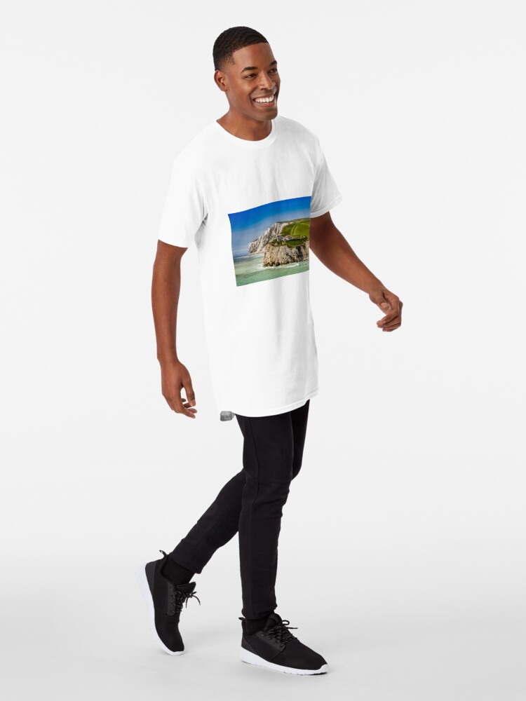 Alternate view of Fort Redoubt Freshwater Bay Isle Of Wight Long T-Shirt