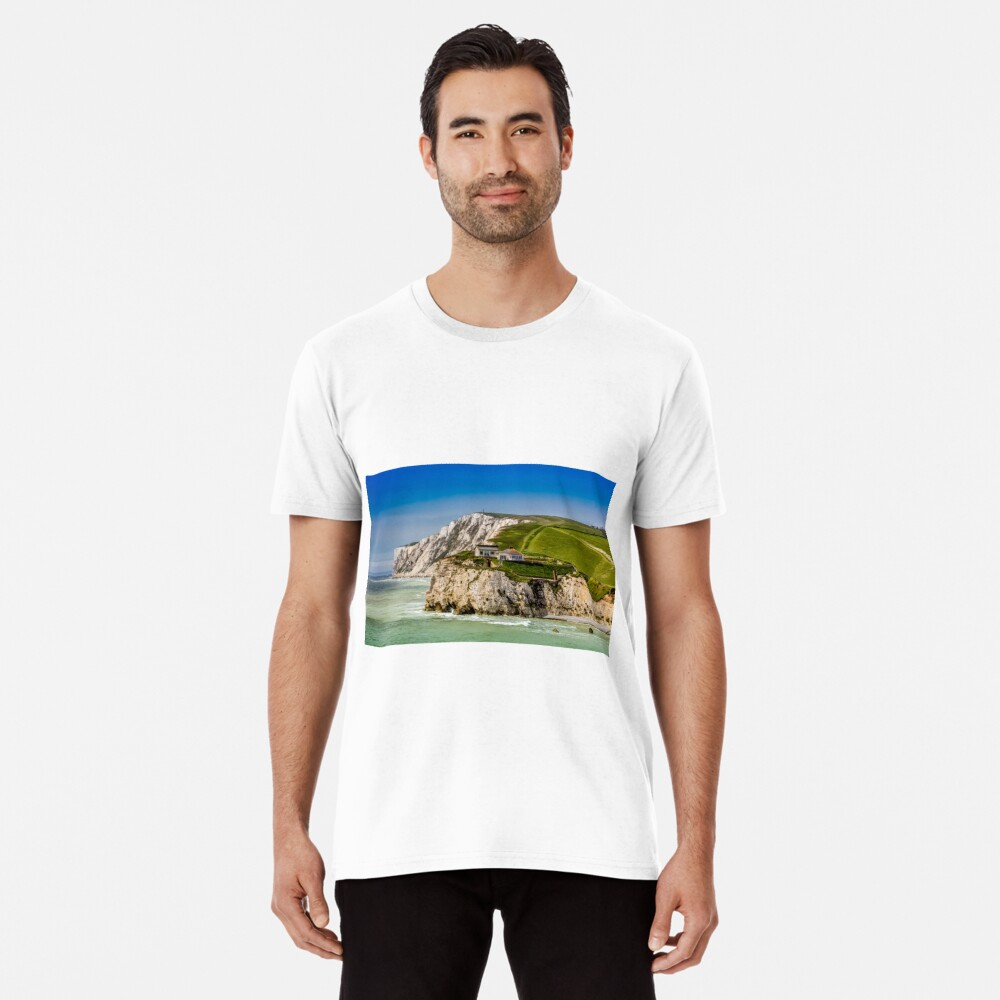 Fort Redoubt Freshwater Bay Isle Of Wight Premium T-Shirt