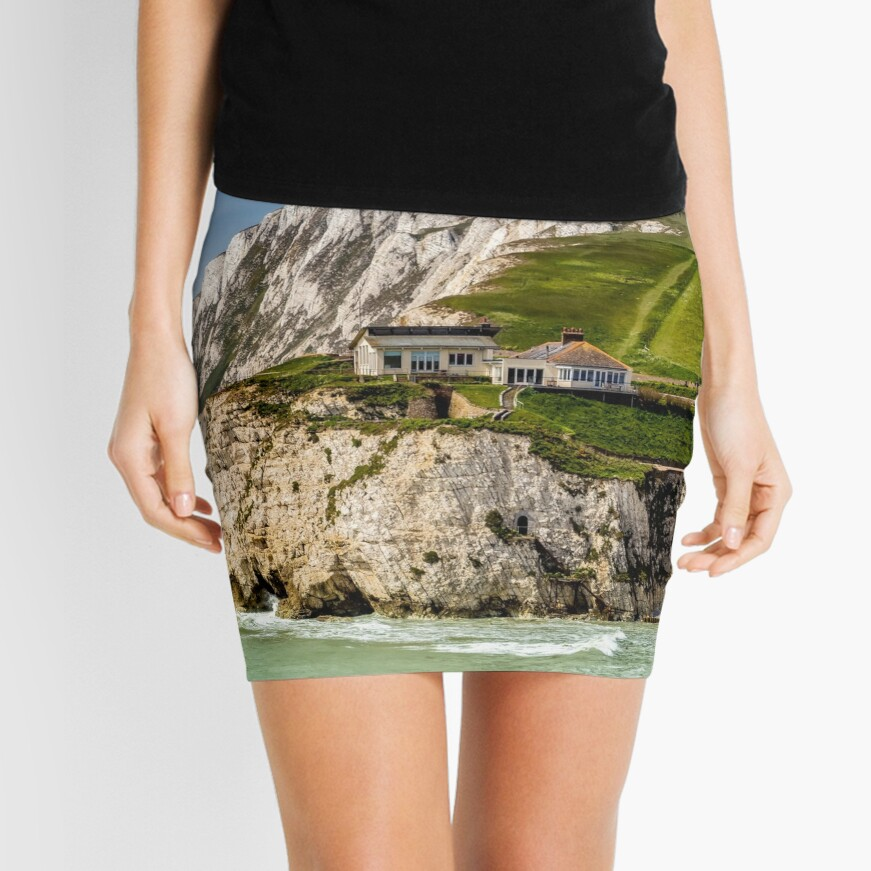 Fort Redoubt Freshwater Bay Isle Of Wight Mini Skirt